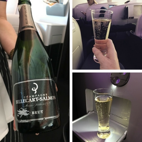Air New Zealand dreamliner Business Class