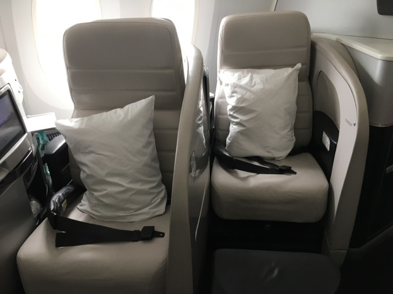 Air New Zealand Business Class review 787