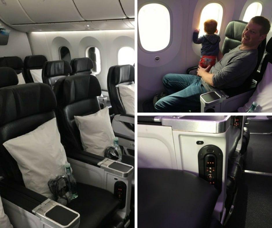 Air New Zealand premium economy 787