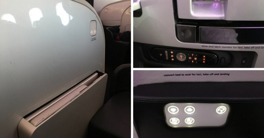 Air New Zealand Business Class 787