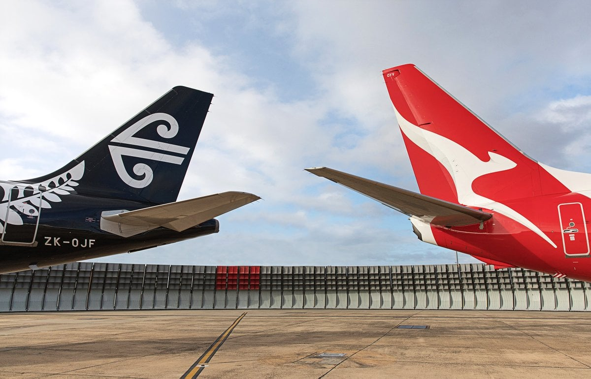 Qantas and Air New Zealand announce codeshare agreement