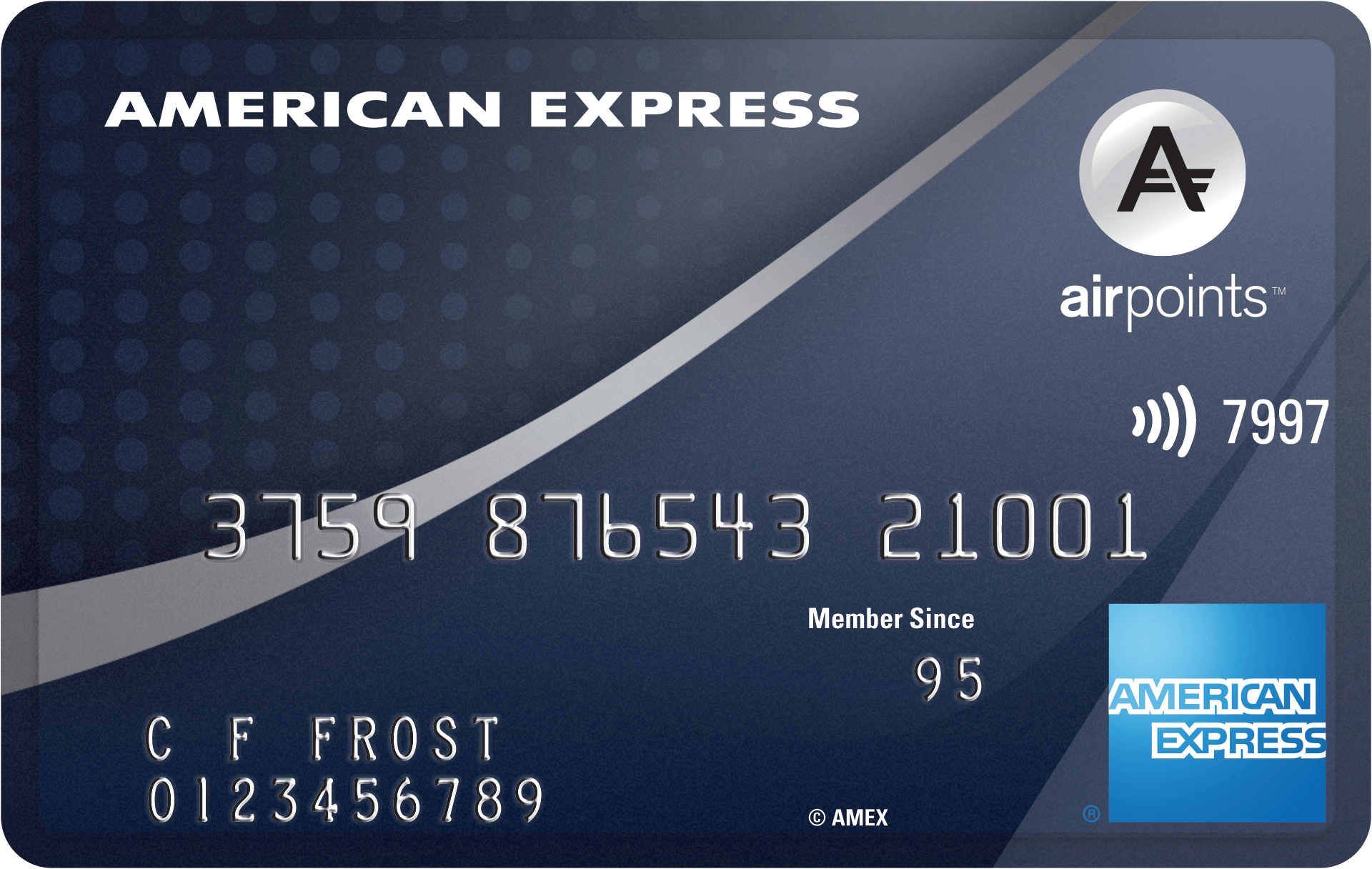 AMEX Airpoints Platinum Credit Card