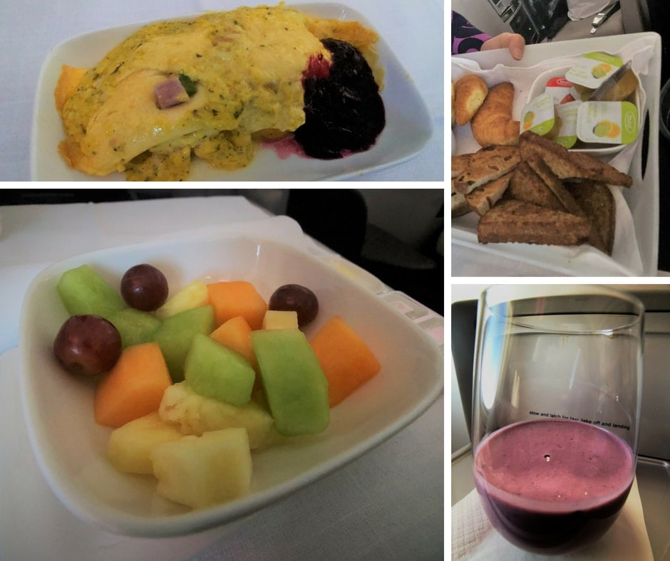 air new zealand business breakfast