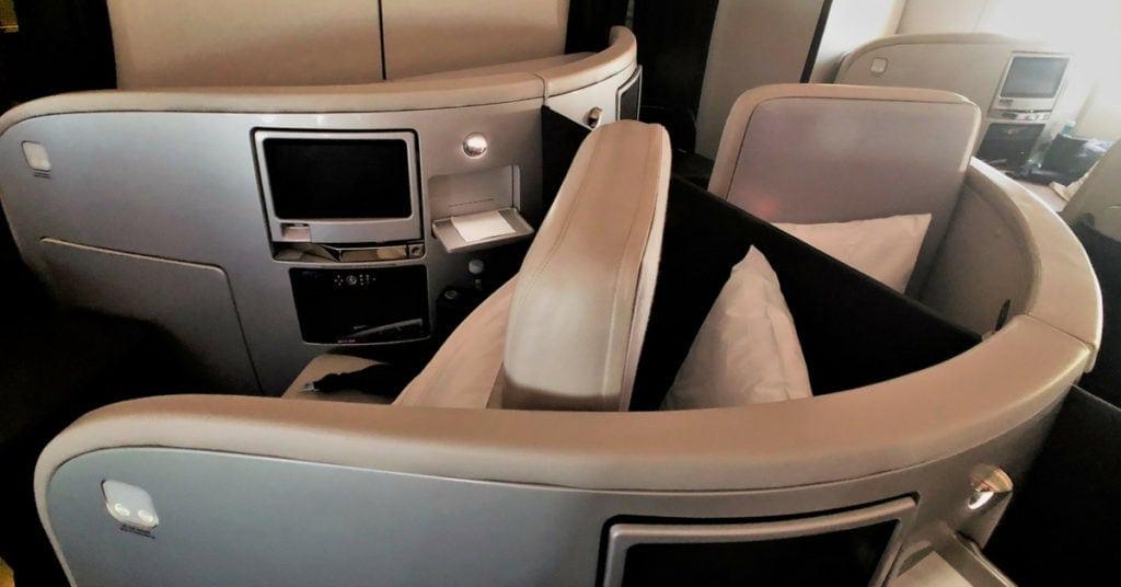 air new zealand business premier seat