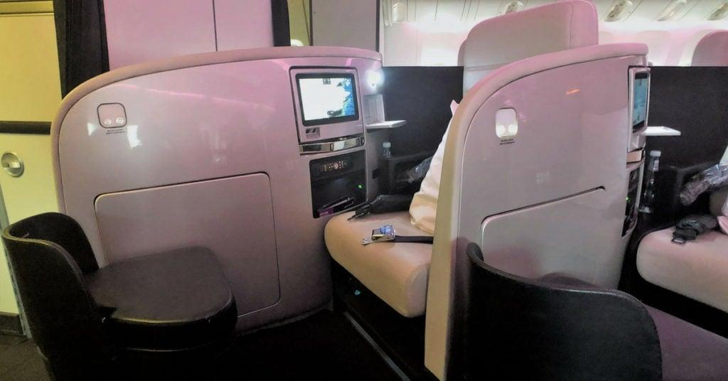 air new zealand business premier seat 2