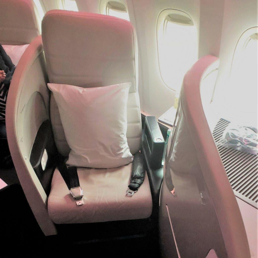 air new zealand business premier seat 4