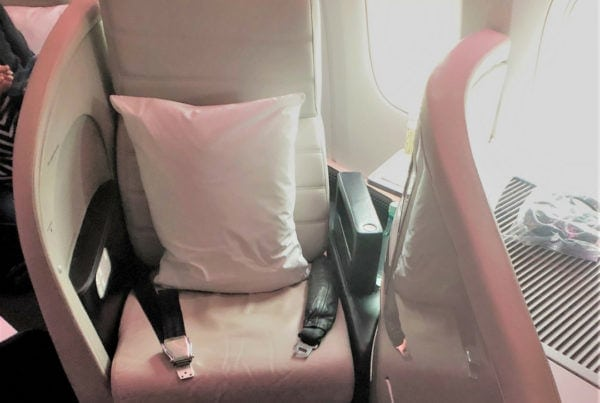 air new zealand business premier seat 4