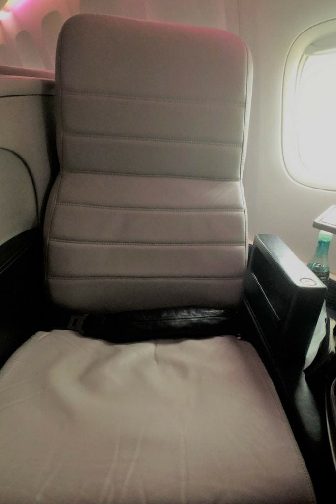 air new zealand business premier seat 5