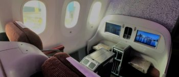 LATAM business class review: LA 800 Sydney to Auckland