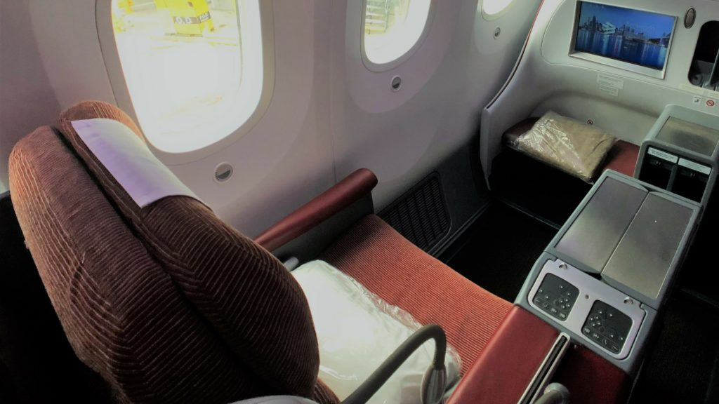 latam business class seat long