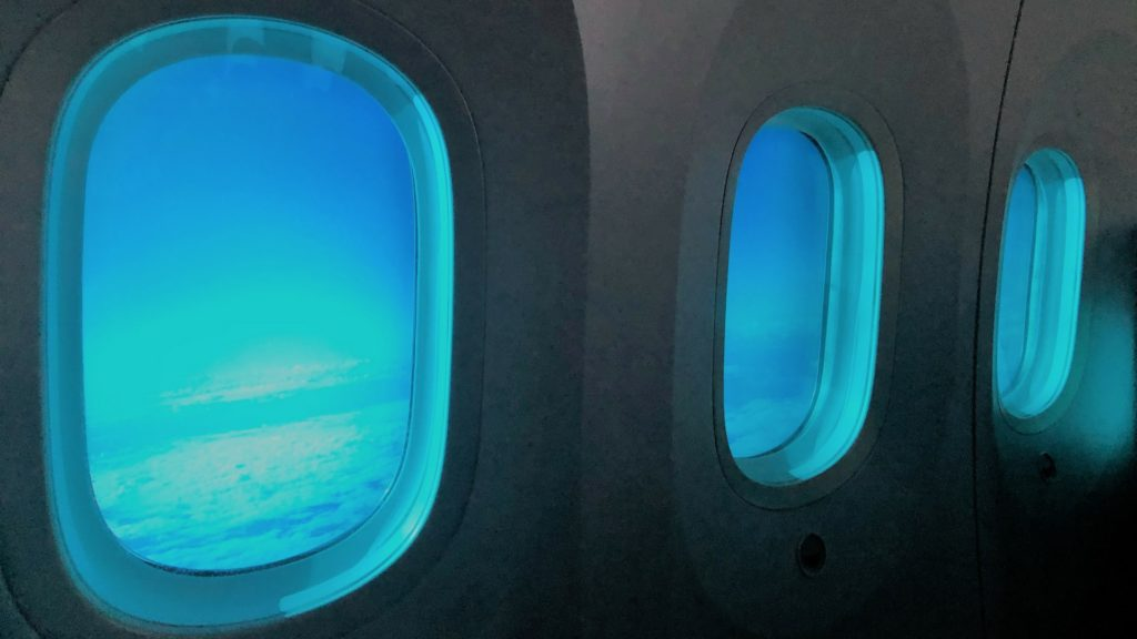 latam business class windows