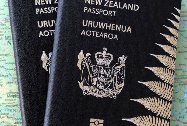 New Zealand passports