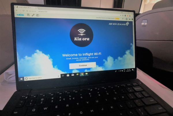 Air New Zealand wifi welcome screen 1024