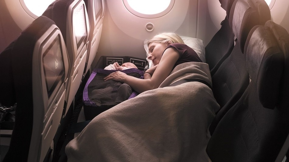 Discovering the Air New Zealand Skycouch
