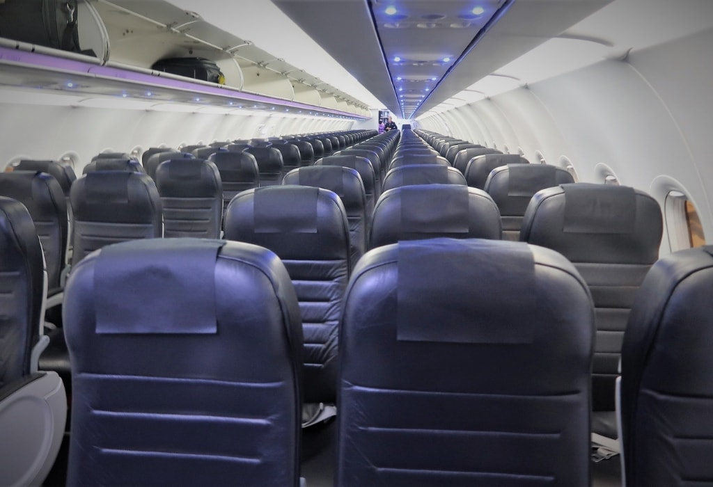 air new zealand economy class review a320 cabin