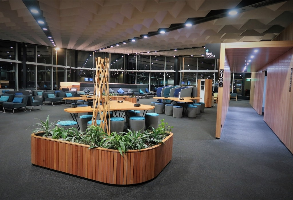 air new zealand economy class review koru lounge christchurch airport