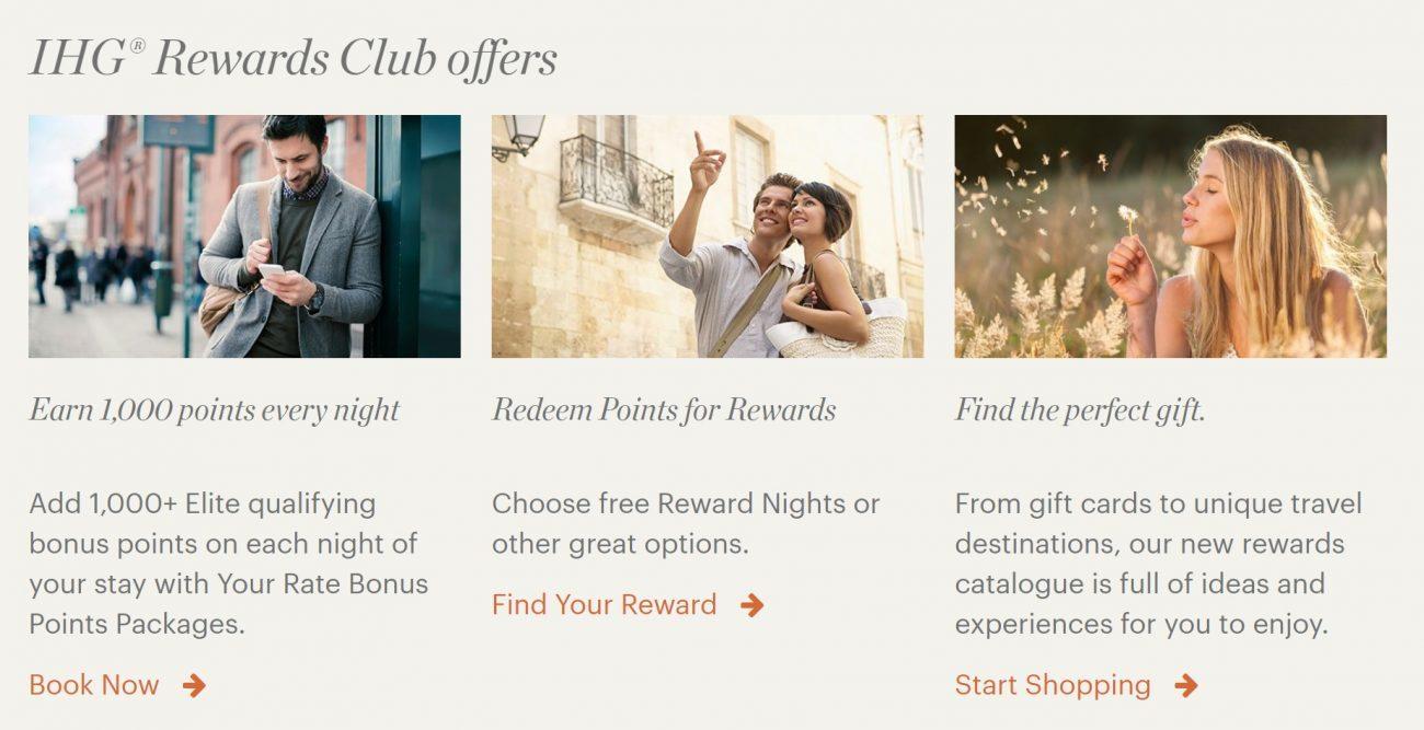 IHG Rewards Club Offers