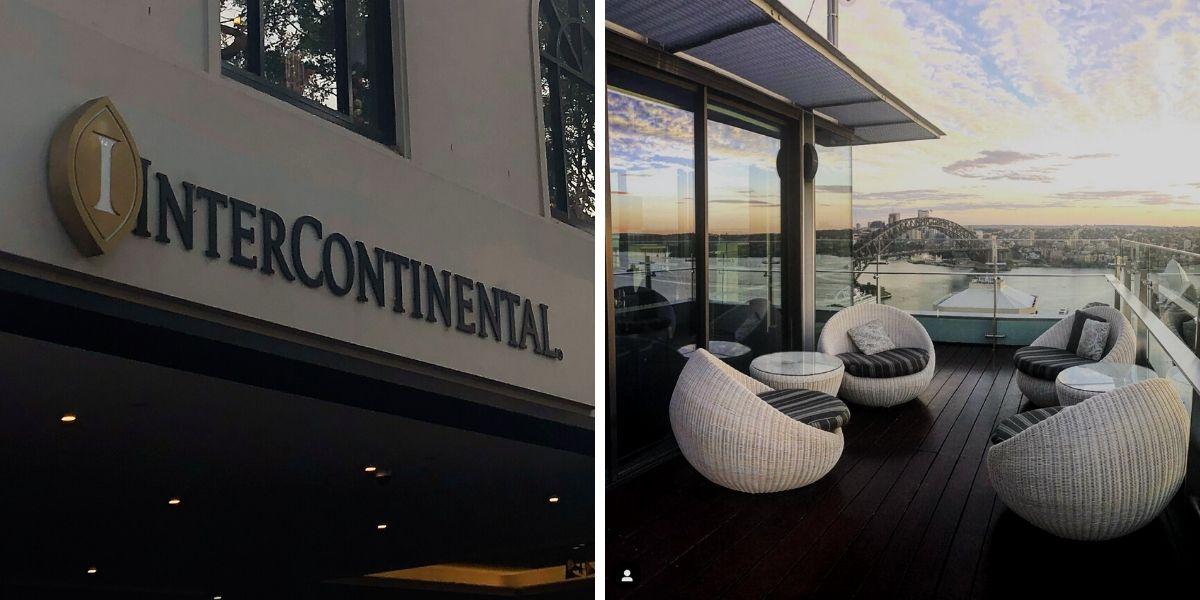 IHG Intercontinental sydney deck