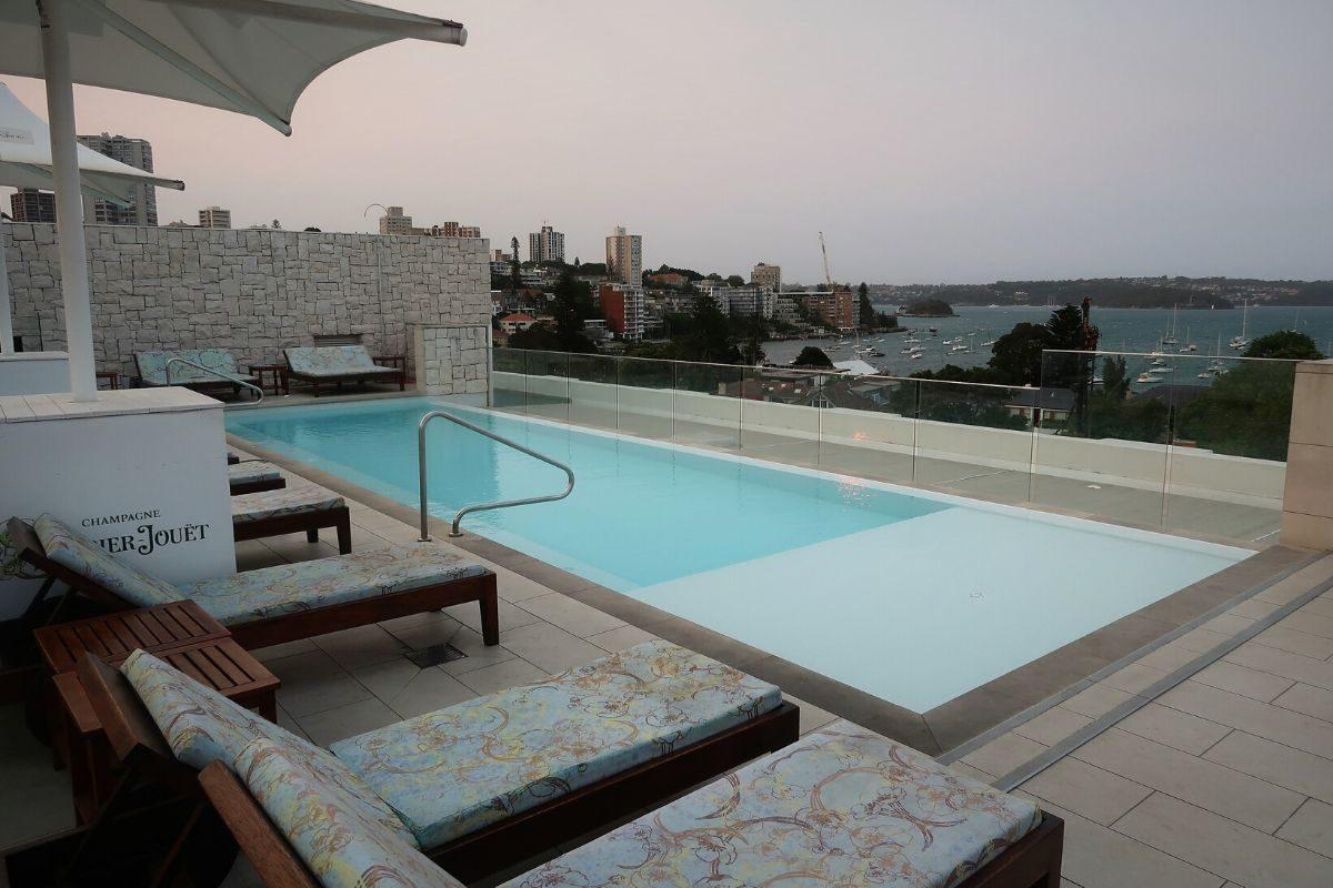 IHG Intercontinental Double Bay pool