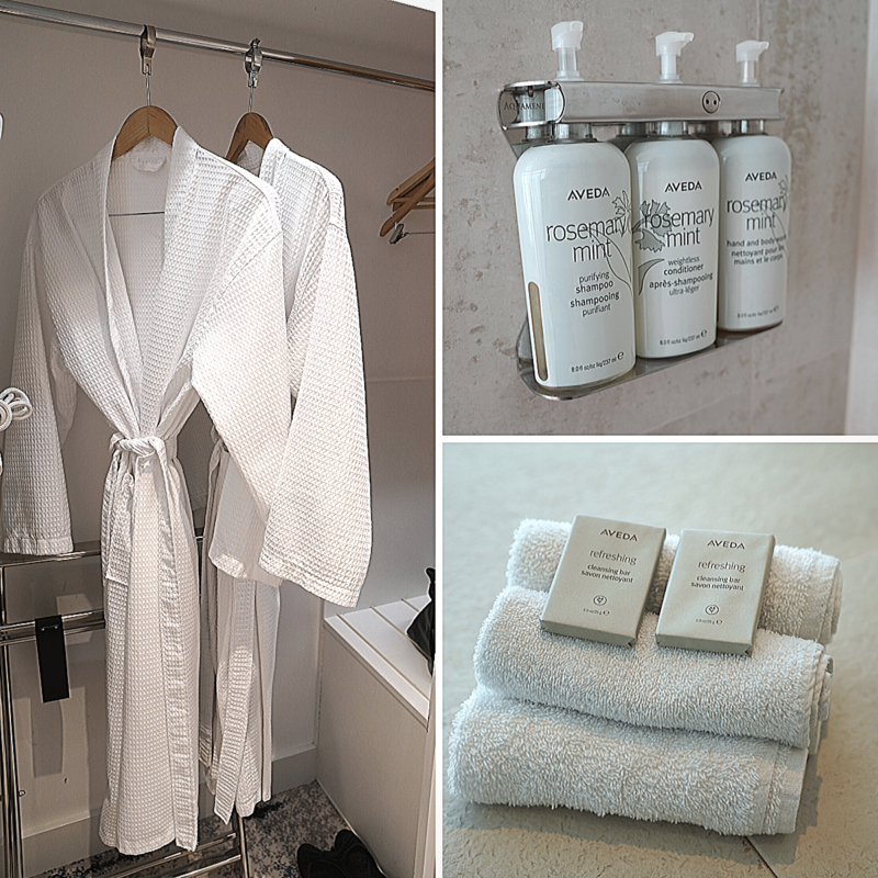 voco gold coast amenities and bathrobes and towels