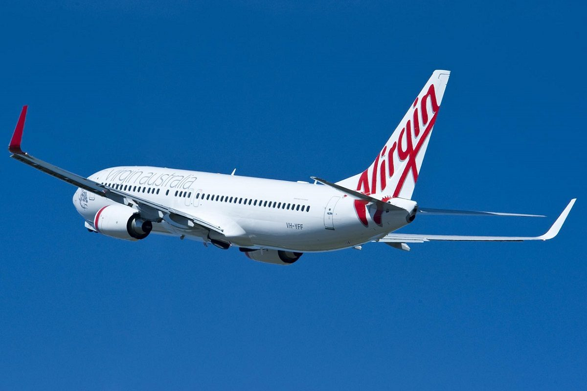 virgin airlines 737 800