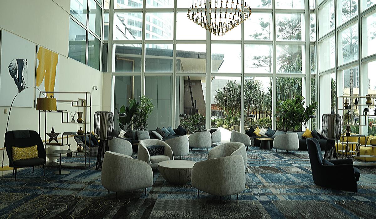 voco gold coast lobby wide view