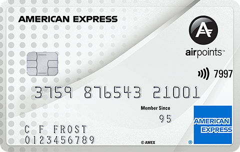 american express airpoints credit card
