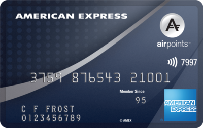 american express airpoints platinum credit card